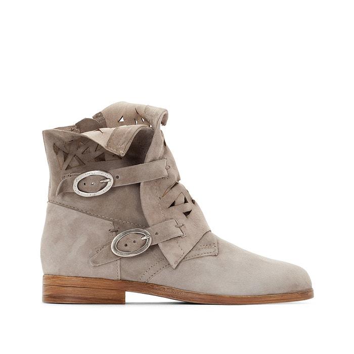 Nicole Flat Leather Boots  MJUS image 0