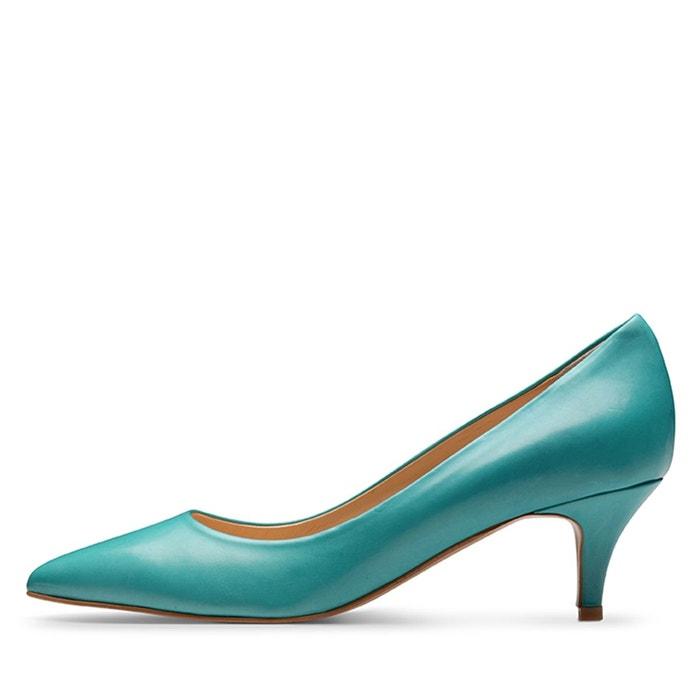 Escarpins femme turquoise Evita
