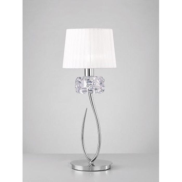 Grande Lampe De Table Design Loewe 1 Lampe Mantra La Redoute