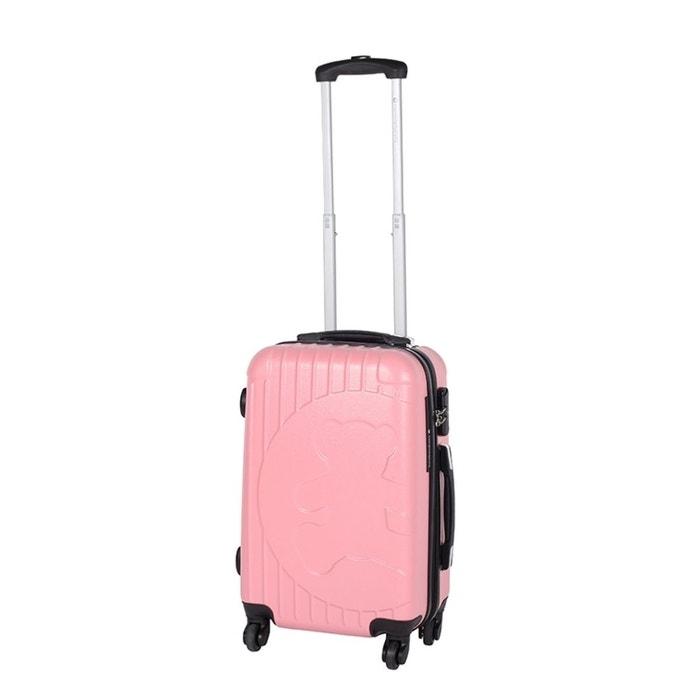 Lulucastagnette valise cabine bes taille s 23cm rose lulu castagnette la redoute - Valise cabine lulu castagnette ...
