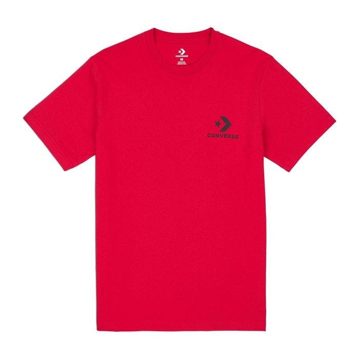 redondo corta cuello manga Camiseta CONVERSE y con HF1xt4