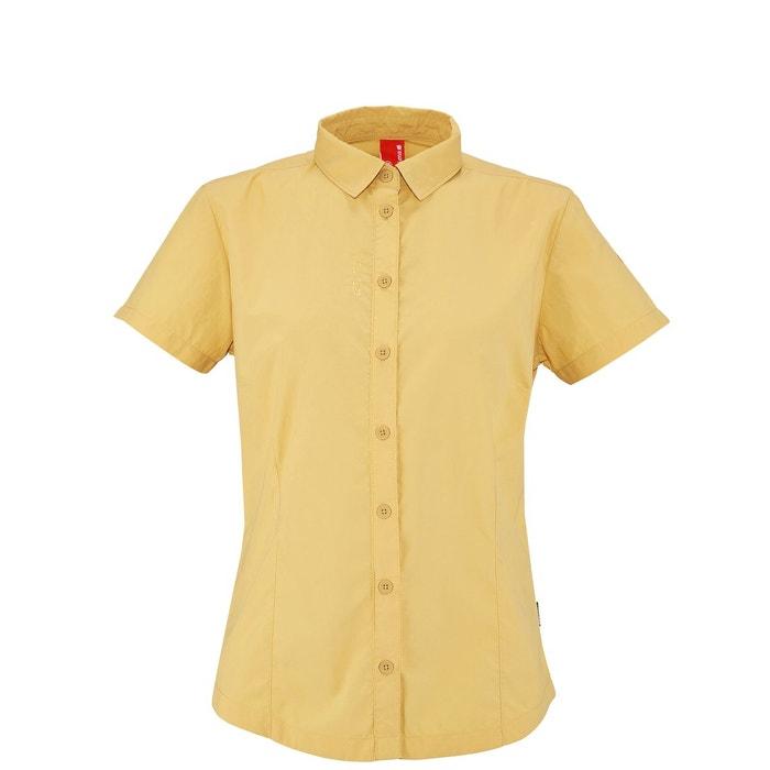 Access shirt jaune honey Lafuma