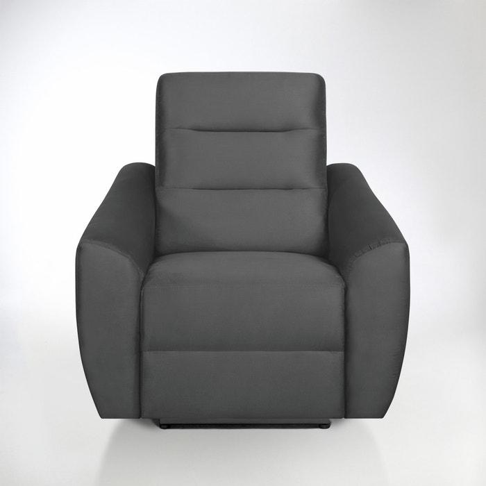 afbeelding Relaxzetel in microvezel, Gedes La Redoute Interieurs