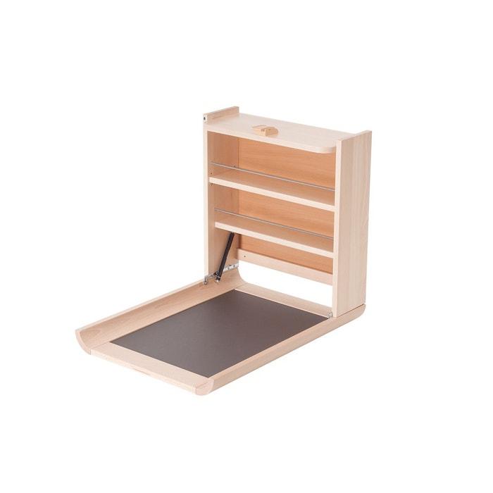 table langer wanda naturel geuther la redoute. Black Bedroom Furniture Sets. Home Design Ideas