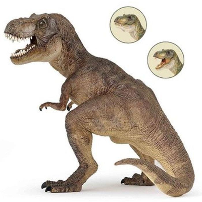 Figurine Dinosaure : Tyrannosaure : Brun PAPO