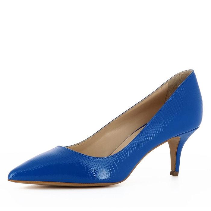 Escarpins femme bleu Evita
