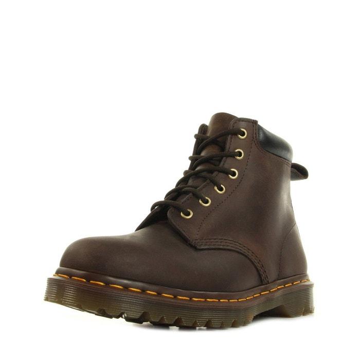 Boots homme 939 ben boot crazy horse gaucho  brun noir jaune Dr Martens  La Redoute