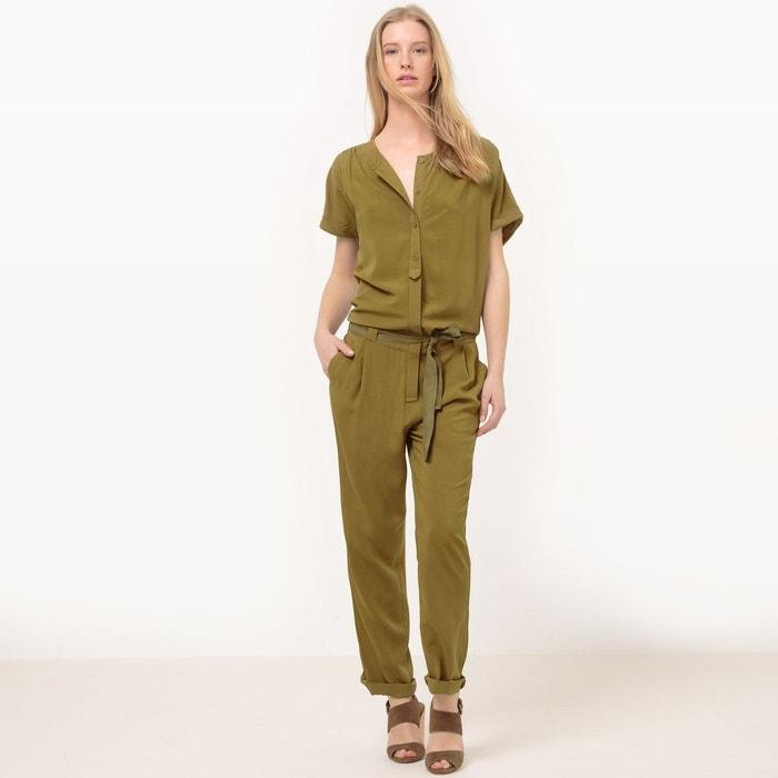 Combinaison pantalon manches courtes la redoute collections la redoute - La redoute combinaison ...