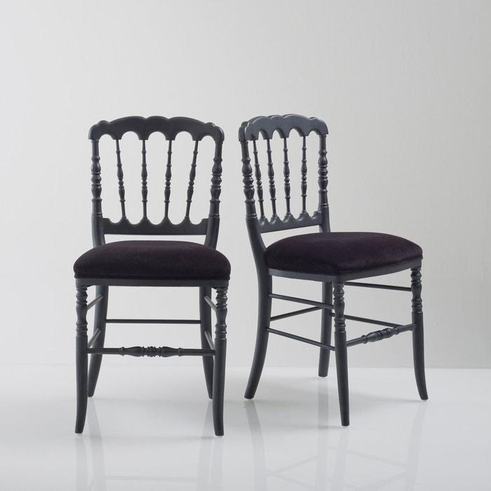 Chaise, style Napoléon III (lot de 2), Lipstick  La Redoute Interieurs image 0