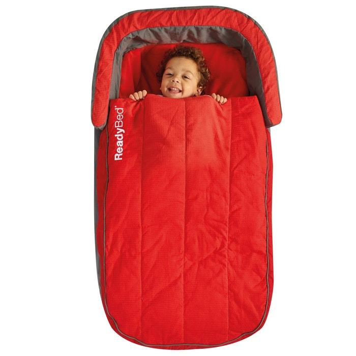 Matelas gonflable avec sac de couchage int gr rouge room - Lit gonflable avec sac de couchage integre ...