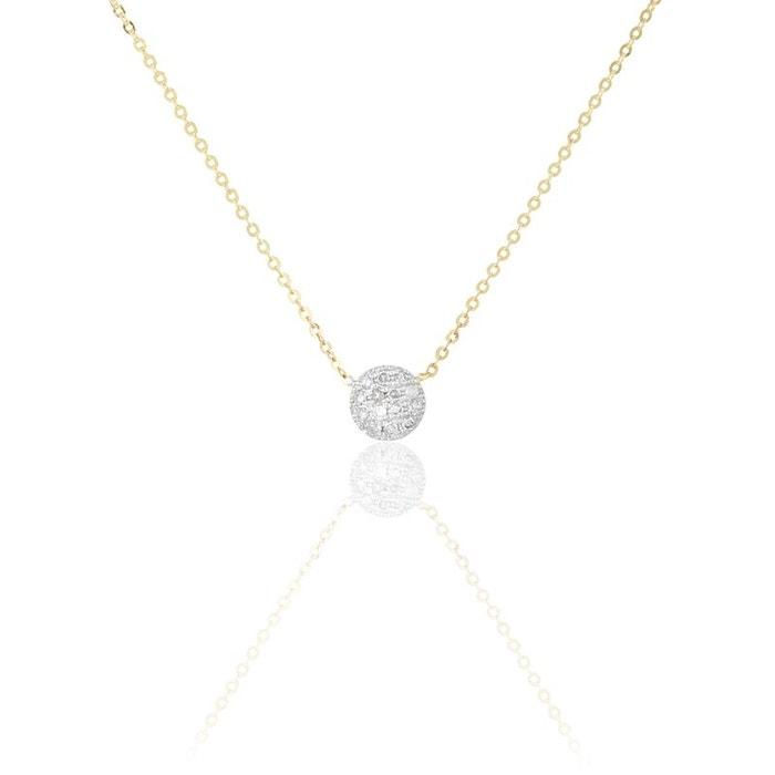 Collier or et diamants jaune Histoire D'or | La Redoute Paiement De Visa Pas Cher En Ligne CxEN5Xzy5