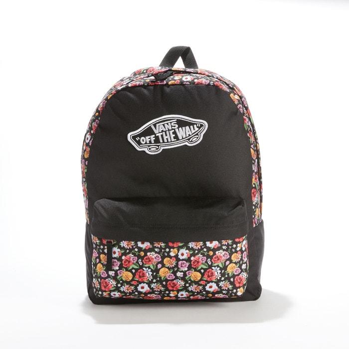 Sac A Dos Realm Backpack Vans Imprime Fleurs Noir La Redoute