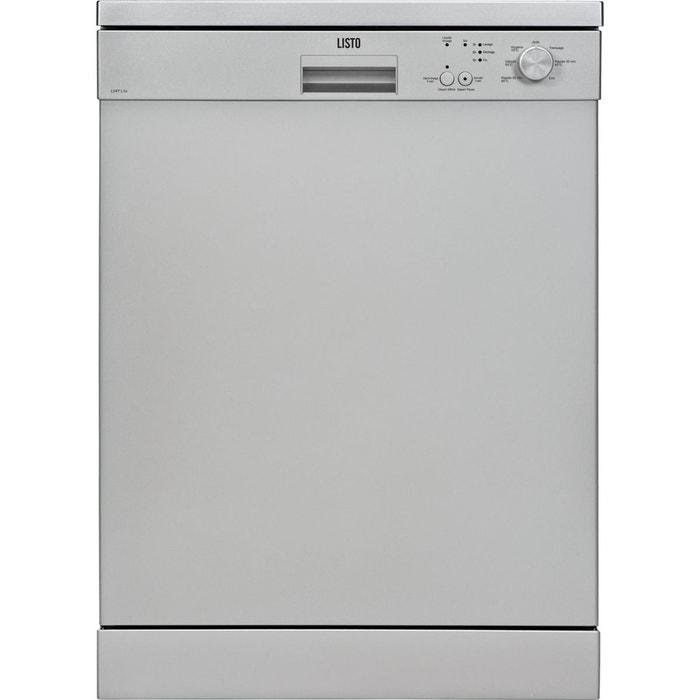 Lave vaisselle 60cm listo lv47 l1 silver couleur unique listo la redoute - La redoute lave vaisselle ...