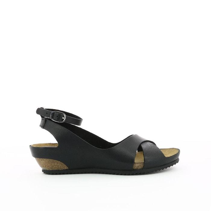 1fa0e083730325 Sandales cuir toki noir Kickers | La Redoute