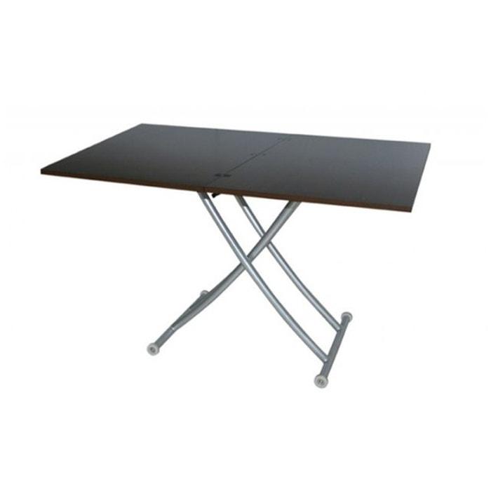 table basse relevable extensible wenge ella declikdeco la redoute. Black Bedroom Furniture Sets. Home Design Ideas