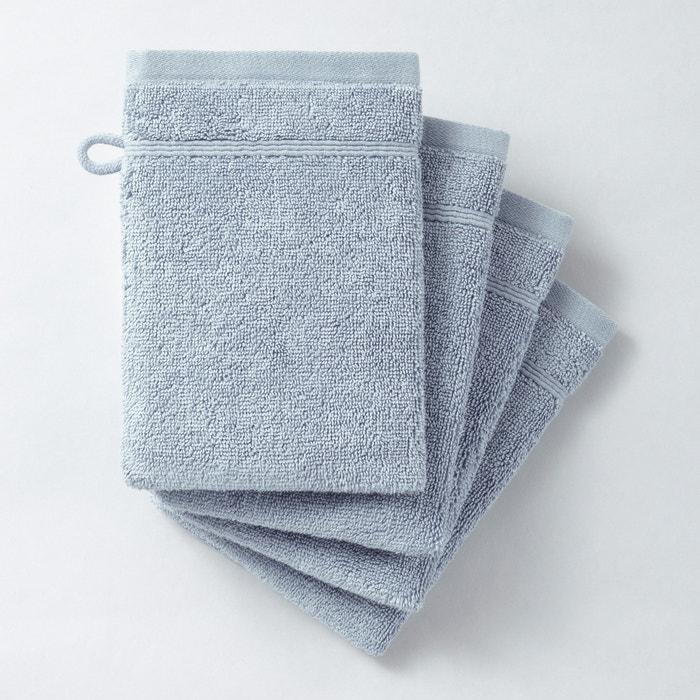 Luvas de banho 600 g/m² (lote de 4), Qualidade Best La Redoute Interieurs