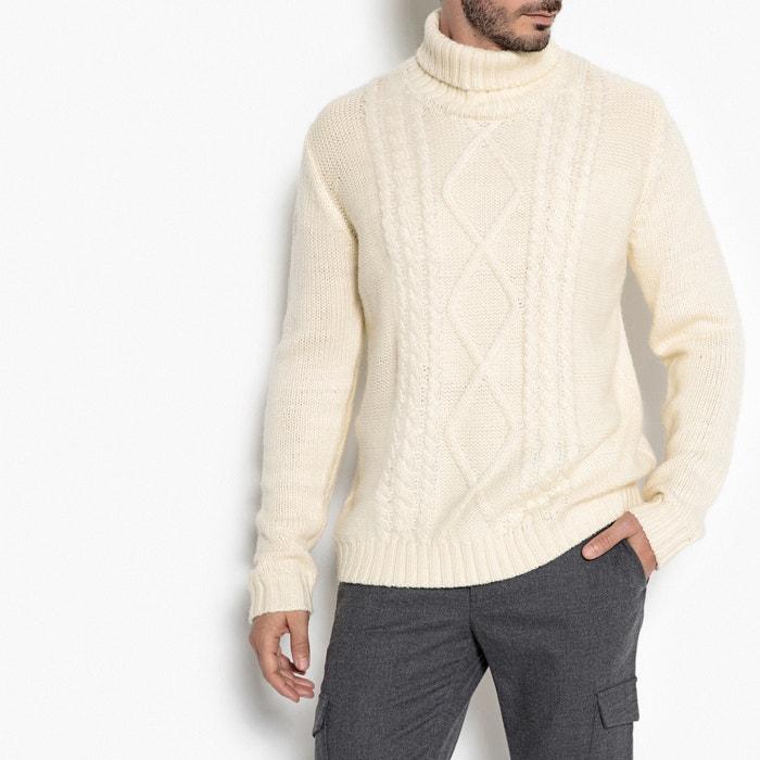 Image Pull collo dolcevita maglia grossa La Redoute Collections