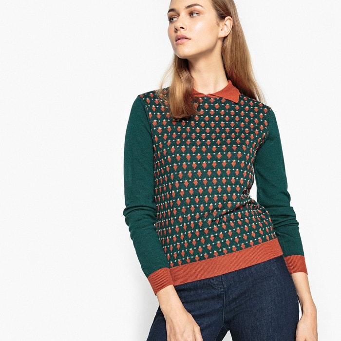 Super Pull avec chemise femme | La Redoute VR66