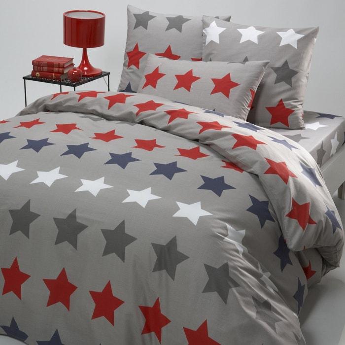 Image Stars Cotton Duvet Cover La Redoute Interieurs
