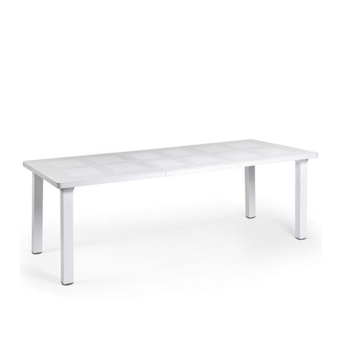 Table rectangulaire extensible jardin & terrasse levante 160-220 cm ...