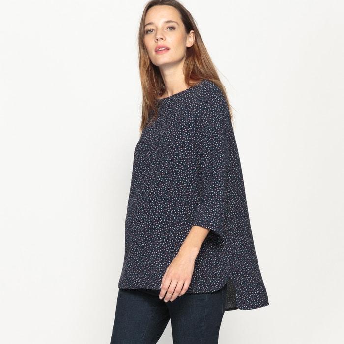 afbeelding Zwangerschap blouse, bedrukt La Redoute Collections