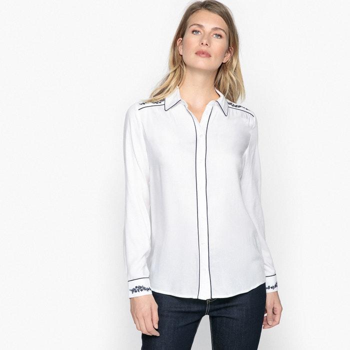 cuello manga polo ANNE larga WEYBURN Camisa con de 8wPtq