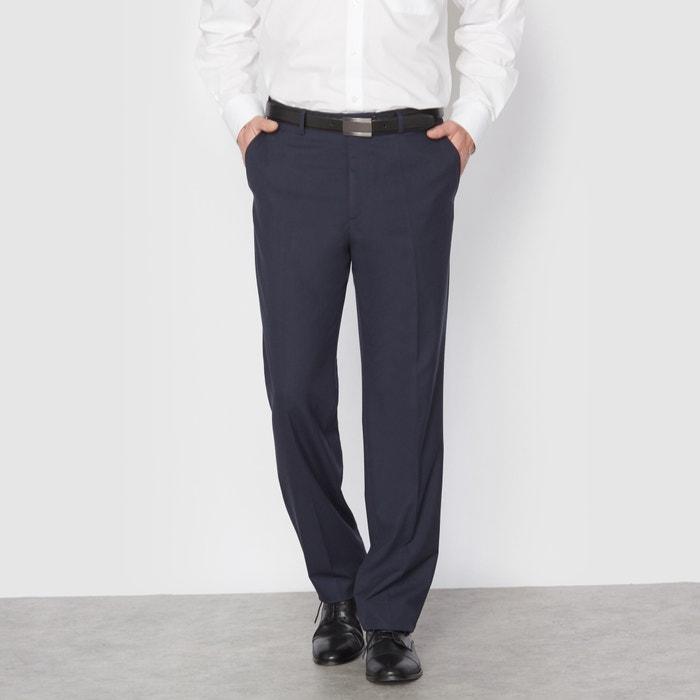 Image Pantalon de costume sans pinces stretch lg.1 CASTALUNA FOR MEN