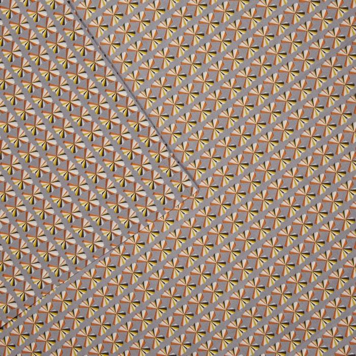 drap plat mister gris olivier desforges la redoute. Black Bedroom Furniture Sets. Home Design Ideas
