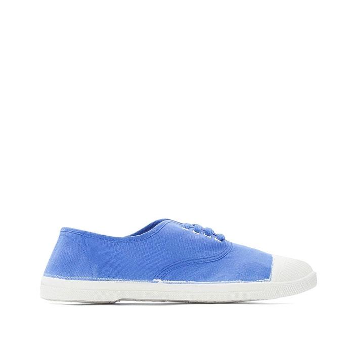 be39c2b452e67 Tennis lacets bleu roi Bensimon   La Redoute