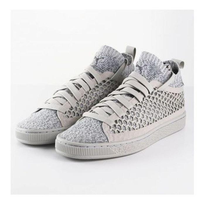 46c6da1c86a Chaussures puma basket classic netfit evoknit gris gris Puma La Redoute  GH8HUA1Z - destrainspourtous.fr
