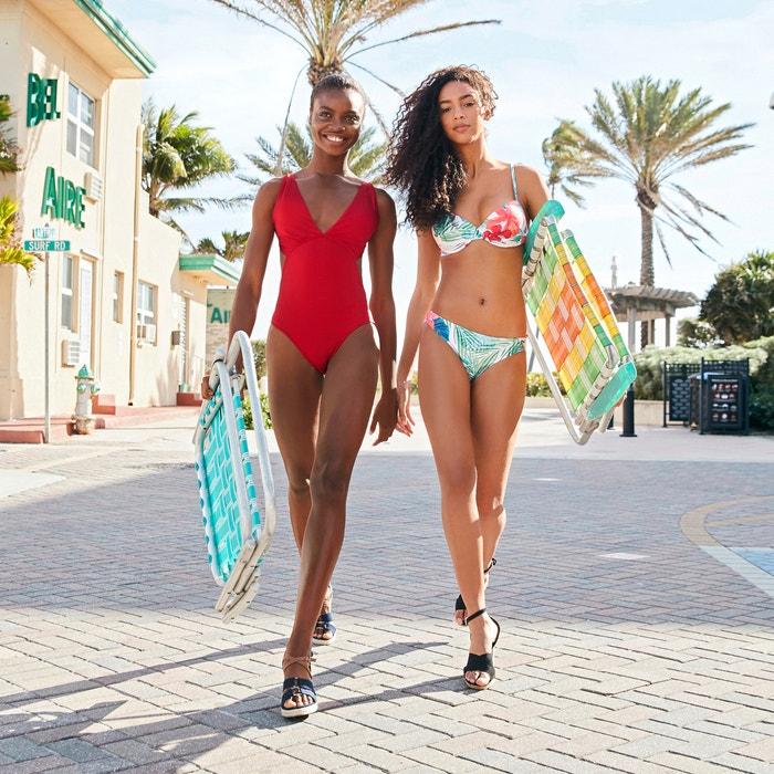 bikini de con La Redoute estampado Collections de flores Braguita tFqPIPvw