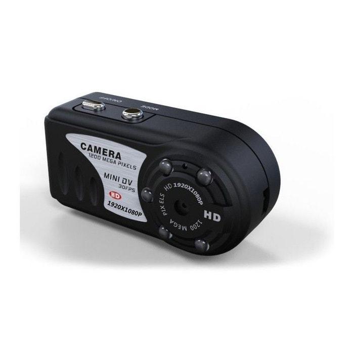 Mini caméra espion full hd 1080p vision nocturne micro sd Yonis   La Redoute 0350fabe9ed3