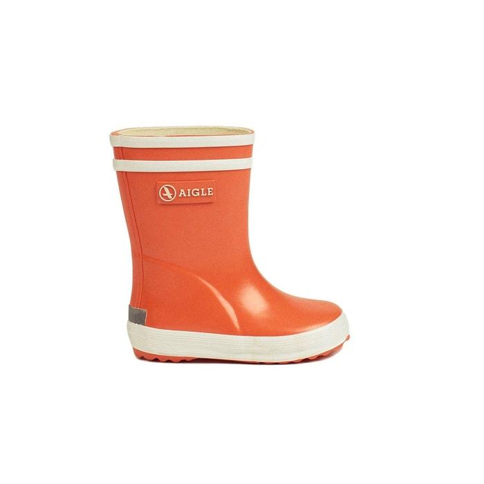 cf480f312f0e5 Bottes de pluie baby flac orange Aigle