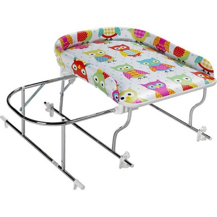 combin baignoire table langer chrome varix hibou geuther la redoute. Black Bedroom Furniture Sets. Home Design Ideas
