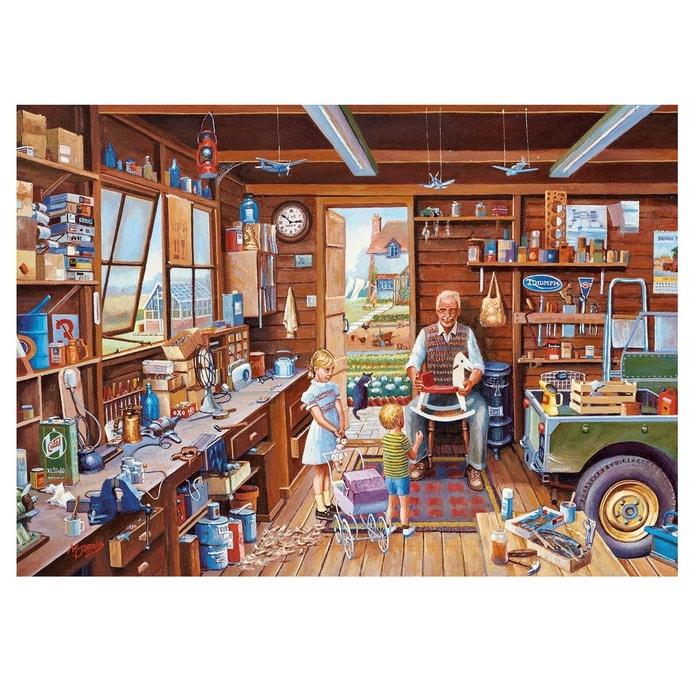 puzzle 1000 pi ces mike jeffries l 39 atelier de papy couleur unique gibsons la redoute. Black Bedroom Furniture Sets. Home Design Ideas