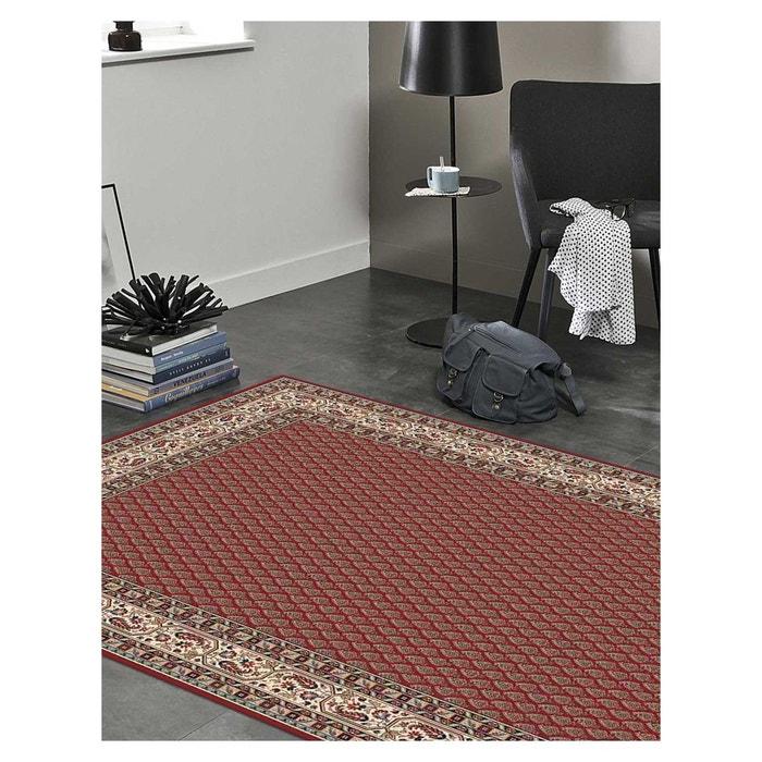 tapis kazbah rouge dessins persans fait la machine 200 x 290 cm un amour de tapis la redoute. Black Bedroom Furniture Sets. Home Design Ideas
