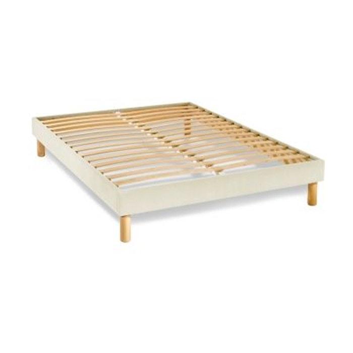 sommier tapissier kit beige 14 cm autre matelsom la redoute. Black Bedroom Furniture Sets. Home Design Ideas