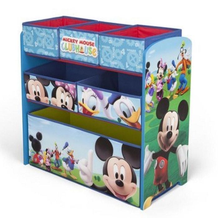 baby walz la multi tag re disney mickey mouse rangement de jouets caisse jouets bleu ciel. Black Bedroom Furniture Sets. Home Design Ideas