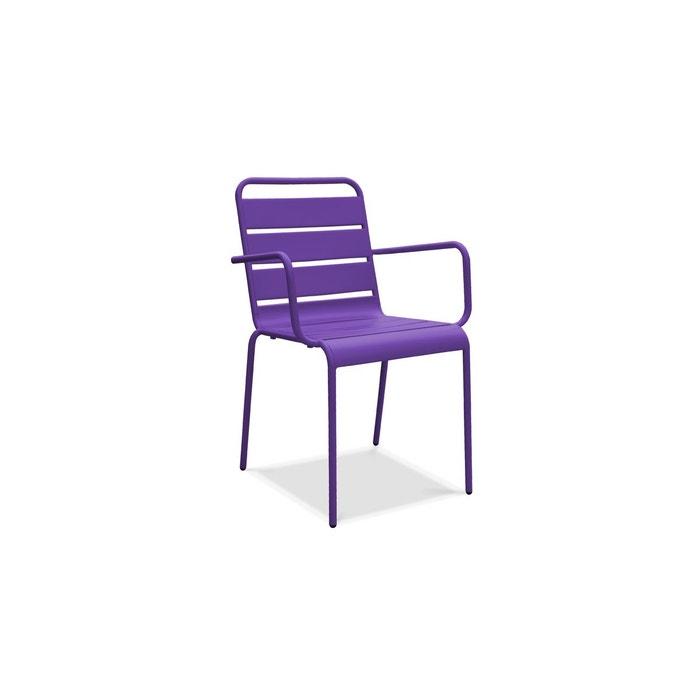 chaise de jardin en m tal oviala la redoute. Black Bedroom Furniture Sets. Home Design Ideas