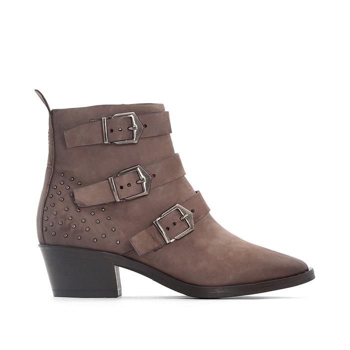 Image Boots cuir à boucles Fresno MJUS