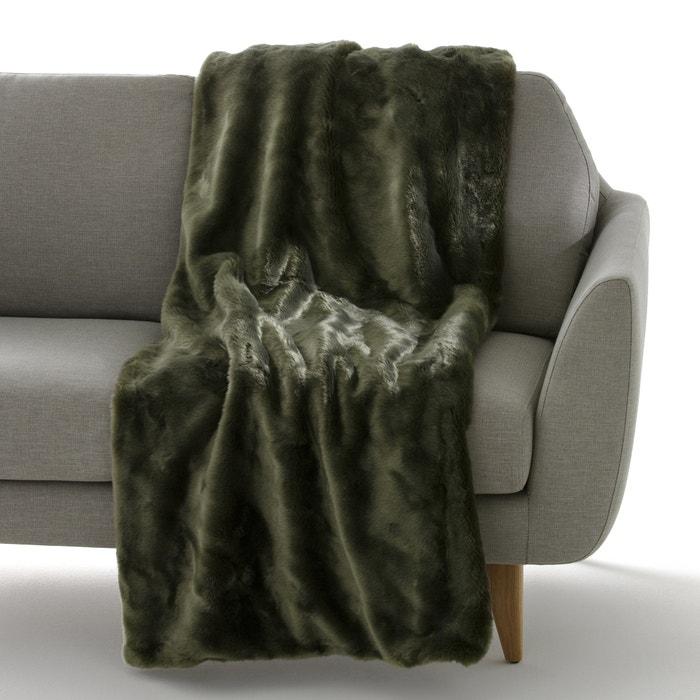 Plaid in pelliccia sintetica KANPUR  La Redoute Interieurs image 0