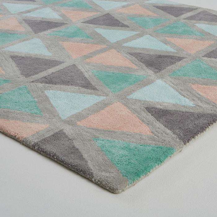 afbeelding Getuft tapijt Burmade La Redoute Interieurs