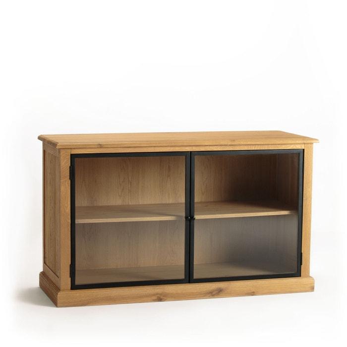 biblioth que basse ch ne sabl officine am pm ch ne naturel la redoute. Black Bedroom Furniture Sets. Home Design Ideas