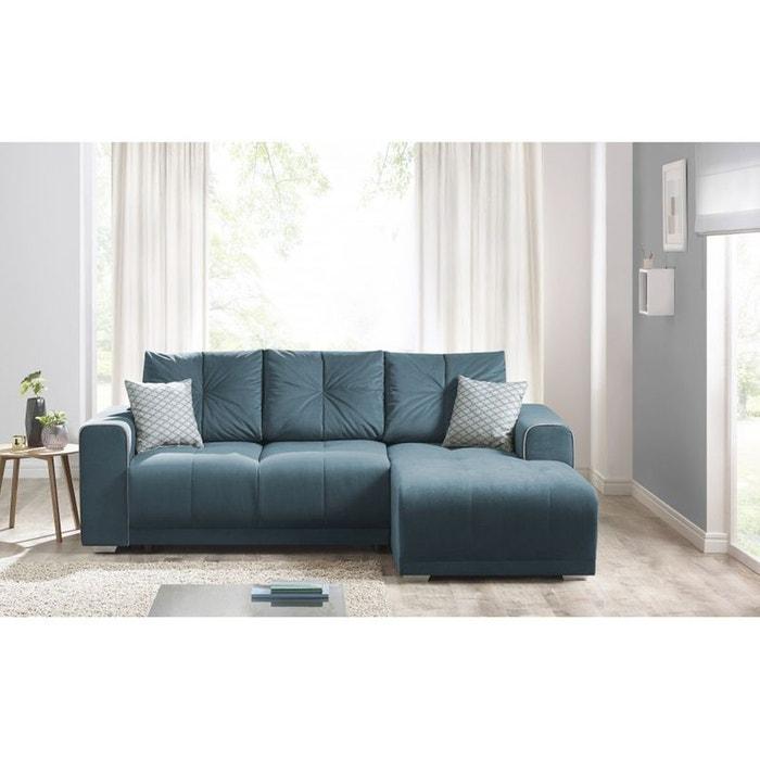 canape d 39 angle convertible lisbona droit 2 pts coussins. Black Bedroom Furniture Sets. Home Design Ideas