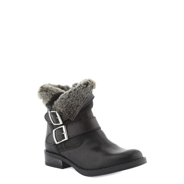 Other Image Boots motardes cuir Fatana COSMOPARIS