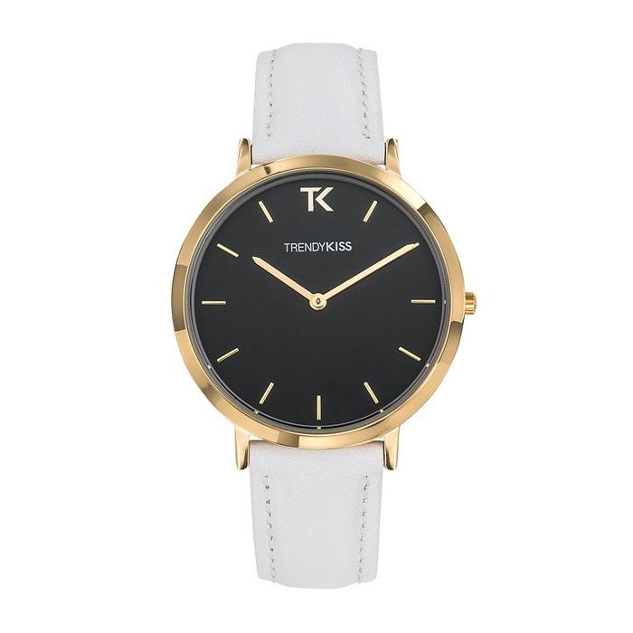 5f8cf6b514 Montre femme trendy kiss lovisa bracelet cuir véritable Trendy Kiss | La  Redoute
