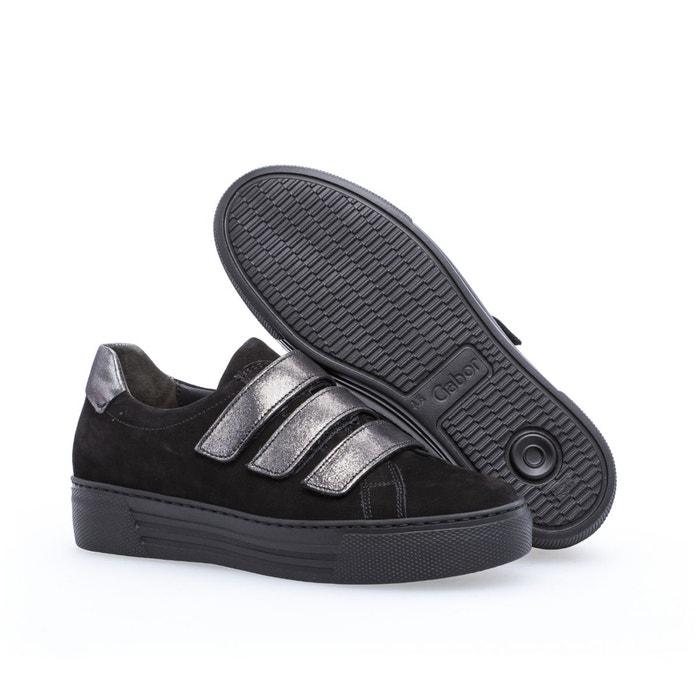 Baskets noir Gabor