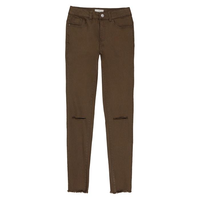 Pantaloni skinny strappati 10-16 anni  La Redoute Collections image 0