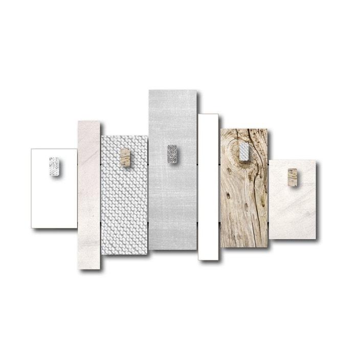 cadre d co original photo de famille beige dimco cote deco la redoute. Black Bedroom Furniture Sets. Home Design Ideas