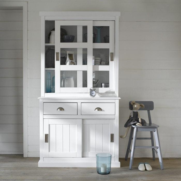 vaisselier 2 portes coulissantes inqaluit la redoute interieurs la redoute. Black Bedroom Furniture Sets. Home Design Ideas